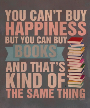 book, books, happiness, life, quote, reading
