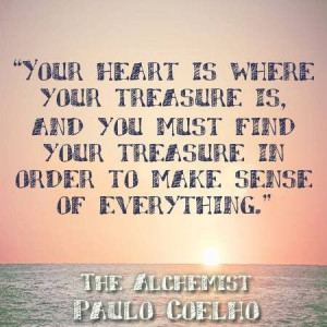 paulo coelho quote from The Alchemist