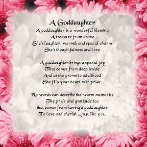 Personalised-Coaster-Goddaughter-Poem-Pink-Floral-Edge-FREE-GIFT-BOX