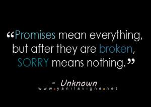 Fact – Promises