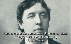 Oscar wilde best quotes sayings brainy clever funny