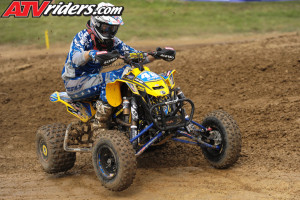 08 chase snapp can am ds450 atv corner