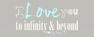 Love You to Infinity and Beyond