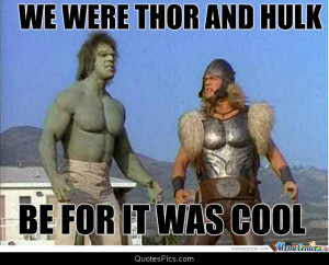 Thor and Hulk before it was cool – Thor and Hulk