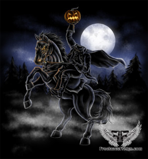 Draw The Headless Horseman...