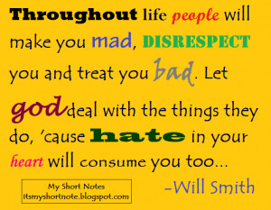Will Smith Quotes: Throughout life...