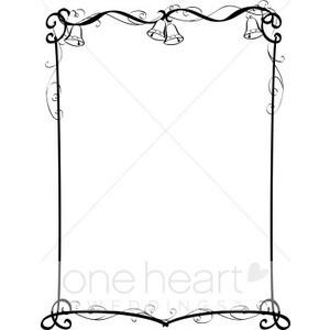 Wedding Bells Border Clip Art Free