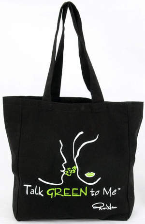 ... one of the catchy phrases that adorn Eco-Bags