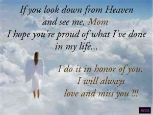 Miss you Mom. LOVE LISA.....