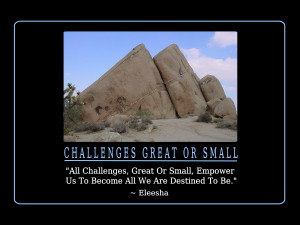 All Challenges Quotes and Affirmations by Eleesha [www.eleesha.com]