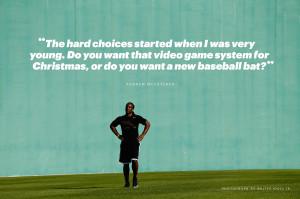 Andrew McCutchen on Youth Baseball