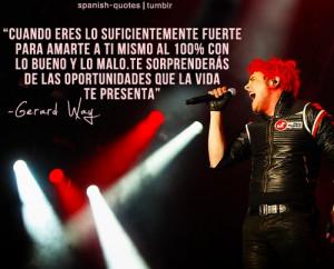 Gerard Way (My chemical Romance)