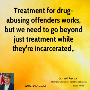 Treatment for drug-abusing offenders works, but we need to go beyond