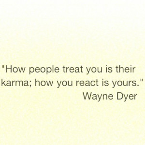 So very true... Karma is a bitch. Can't wait to see if visit a few ...