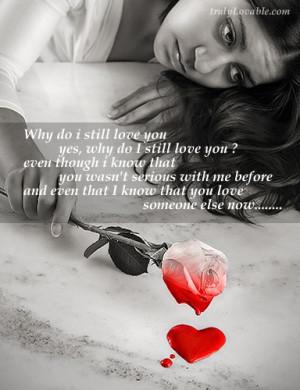 Why do i still love you
