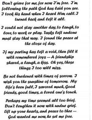 Grandfather Heaven Poem...
