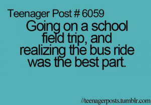 bus, quote, school, teenager, text, true, true story
