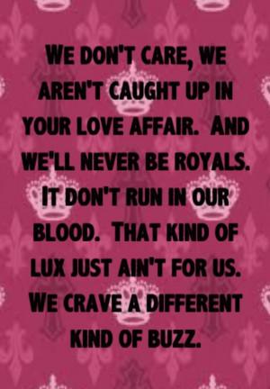 Lorde - Royals - song lyrics, song quotes, songs, music lyrics, music ...