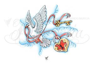 Heart Lock And Key Dfmurcia