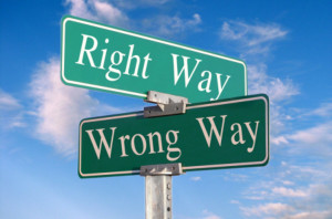 Right Way Wrong Way image