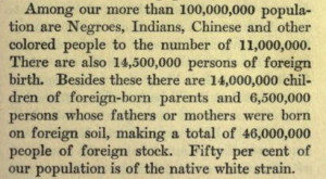 Margaret Sanger quotes about race and eugenics