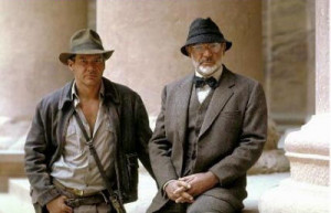 Sean Connery as Professor Henry Jones in Indiana Jones and the Last ...