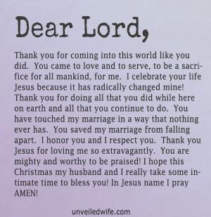 Thank you Jesus! Prayer Of The Day – Celebrating Jesus -