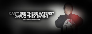 Cant See These Haters Quote Picture