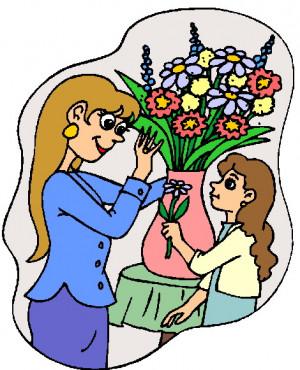 Florist Clip Art Flowers