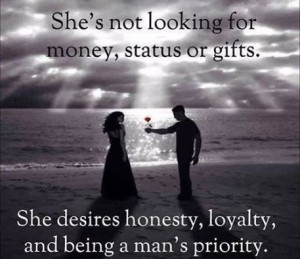 honesty and loyalty