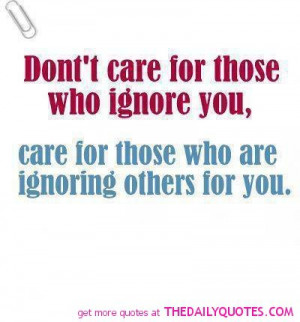 Dont Care Quotes And Sayings