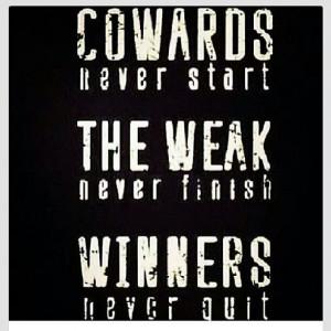 Quotes Quitting Never Quit
