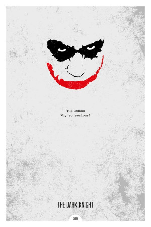 ... Prints has made a series of minimal movie posters with iconic quotes