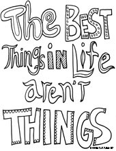 life quotes colouring pages
