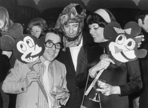 Ronnie Corbett, Victor Spinetti and Anne Hart