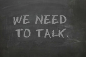 Video: We Need To Talk…