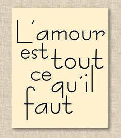 French Love Phrases Image