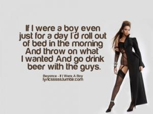 If I were a boy...