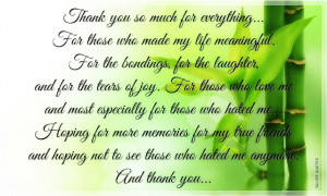 Quotes About Saying Thank You | Famous Thank You Speeches | Thank You ...