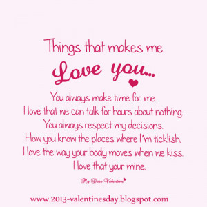 Cute I Love You Picture And Quotes: I Love You Quote In Cute Pink ...