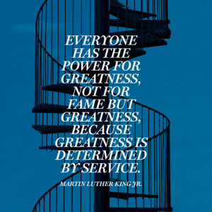 Martin Luther King Jr Quotes On Service Clinic