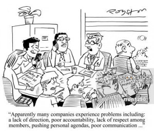 problems including: a lack of direction, poor accountability, lack ...