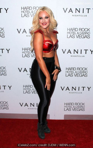 Lacey Schwimmer hosts a bash at Vanity Nightclub at The Hard Rock ...