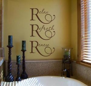 bathroom decor ideas vinyl wall quotes for bathroom ideas for bathroom ...