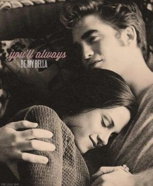 Edward and Bella never let me go