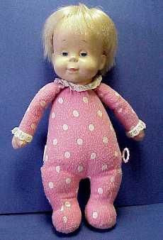 Drowsy Doll - Kristi looooved this (it's the ONLY doll she ever loved ...