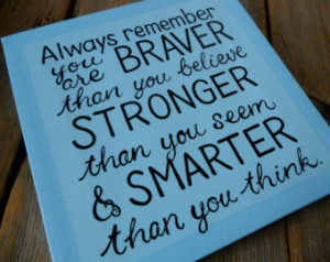 Canvas Painting Ideas Quotes Hand painted quote canvas