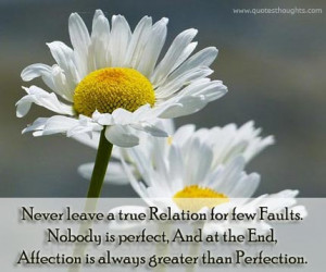 Relationship Quotes-Thoughts-Affection is always greater