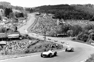 1955 Belgian Grand-Prix When Juan Manuel Fangio topped Circuit de Spa ...