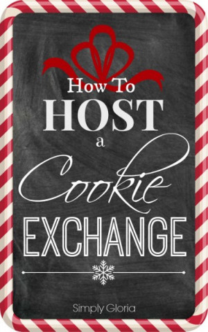 download this Host Christmas Cookie Exchange Party Holiday Planning ...